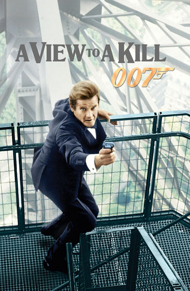 A View To A Kill Poster