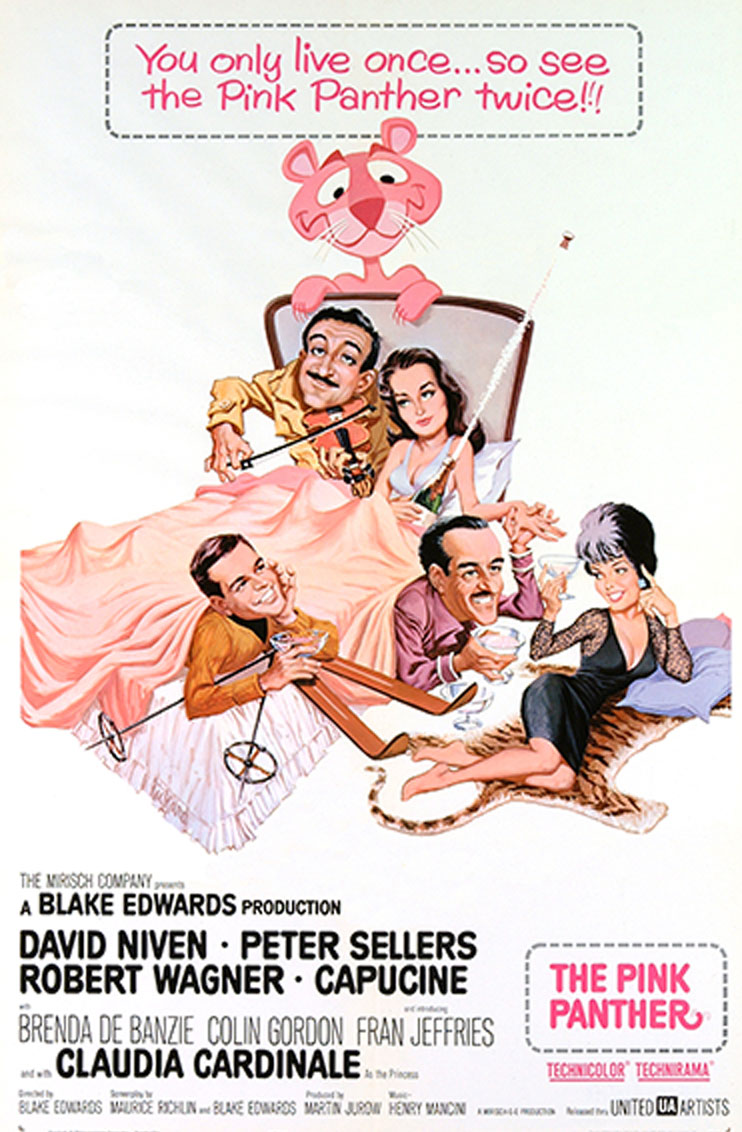 The Pink Panther (1964) Poster